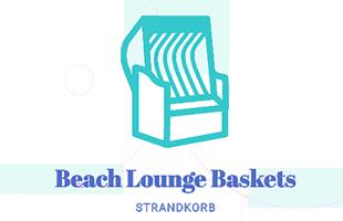 Beach Lounge Baskets